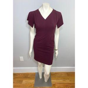 Ann Taylor Plum Sheath Dress Size 0P